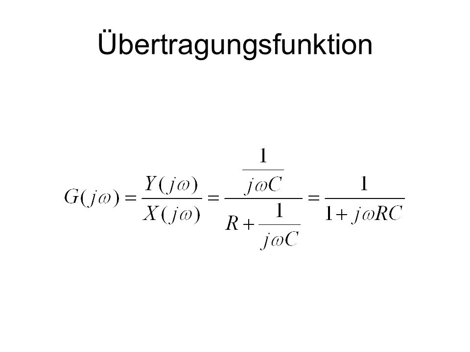 Übertragungsfunktion