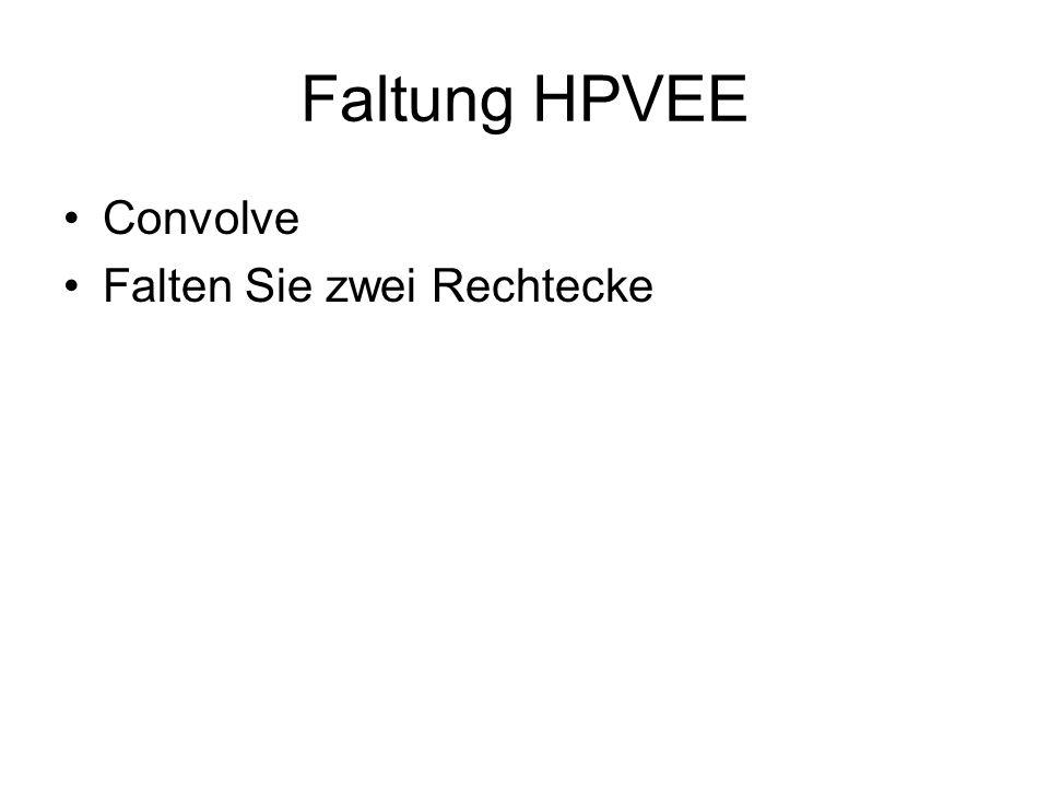 Faltung HPVEE Convolve Falten Sie zwei Rechtecke
