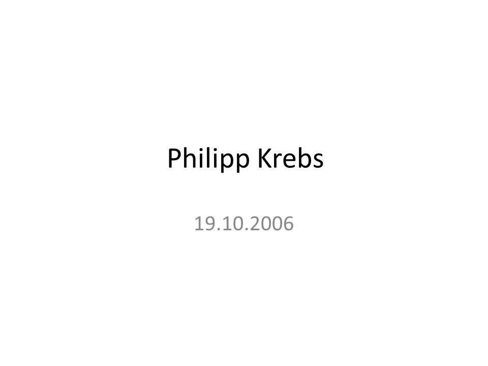 Philipp Krebs 19.10.2006