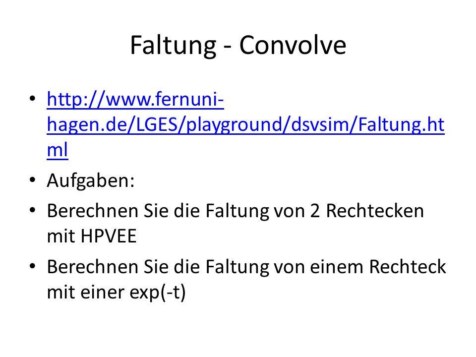 Faltung - Convolve http://www.fernuni- hagen.de/LGES/playground/dsvsim/Faltung.ht ml http://www.fernuni- hagen.de/LGES/playground/dsvsim/Faltung.ht ml