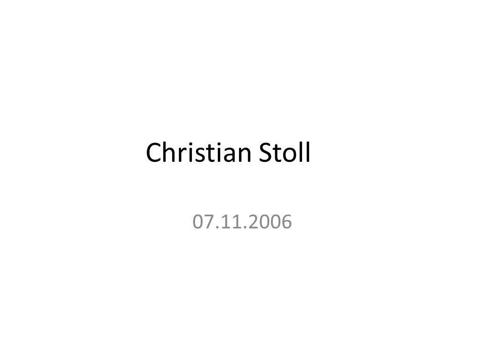 Christian Stoll 07.11.2006