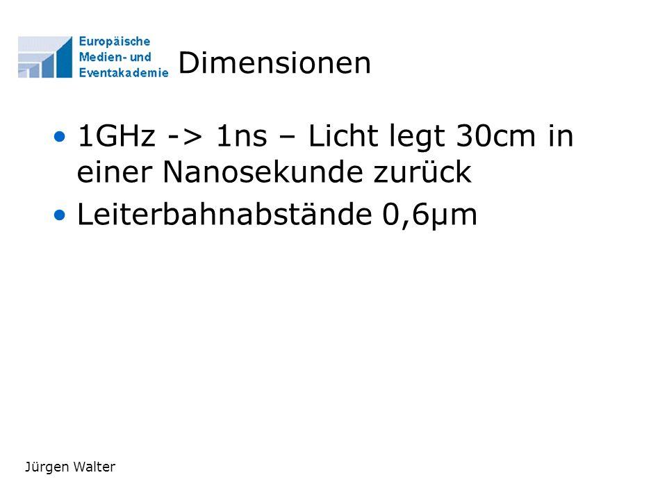 Jürgen Walter Erkenntnisse Mooresche Gesetz Alle 1,5 Jahre verdoppelt sich die Rechenleistung.