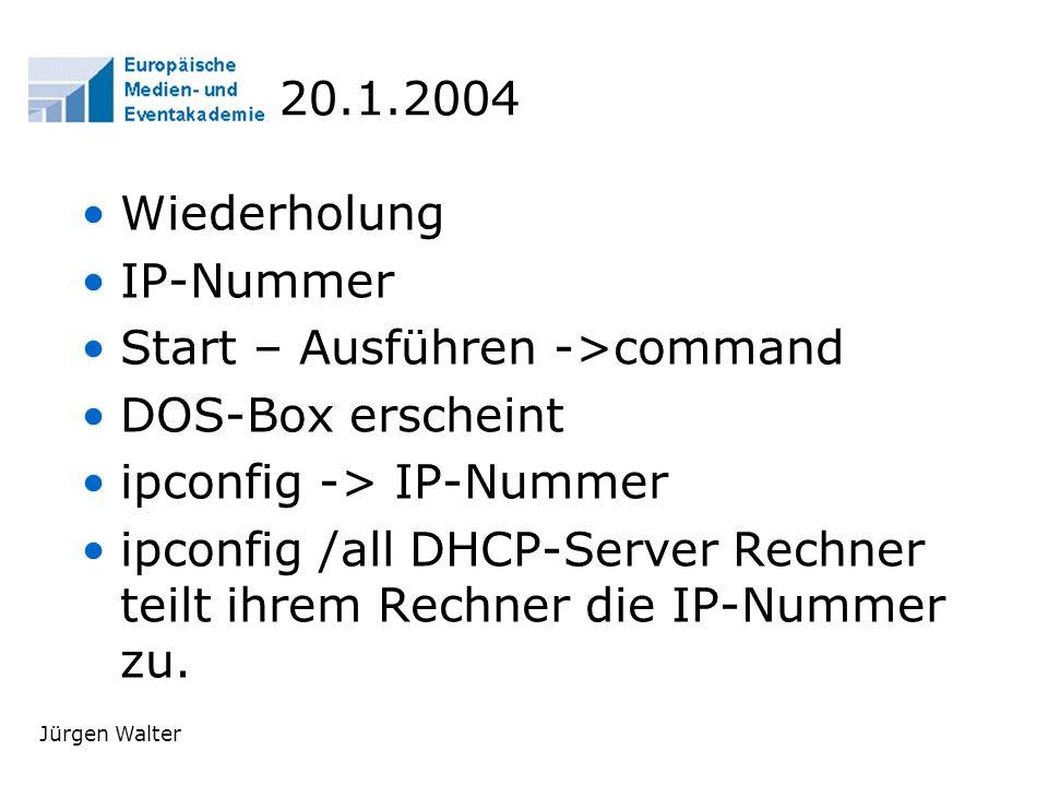 Jürgen Walter E-Mail waju0001@web.de