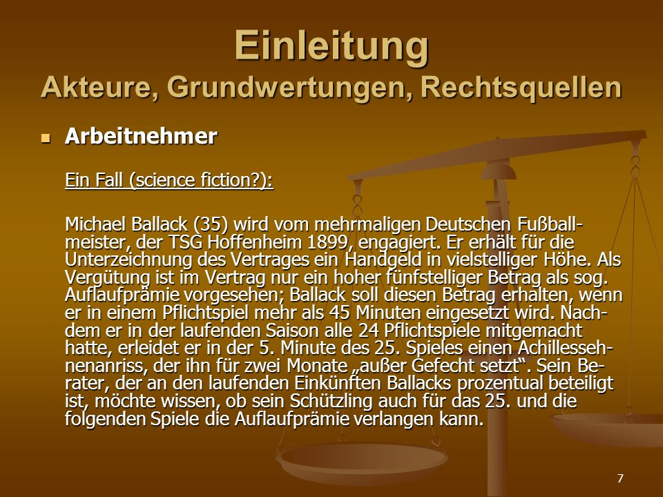 8 Einleitung Akteure, Grundwertungen, Rechtsquellen Arbeitnehmer Arbeitnehmer § 3 Abs.