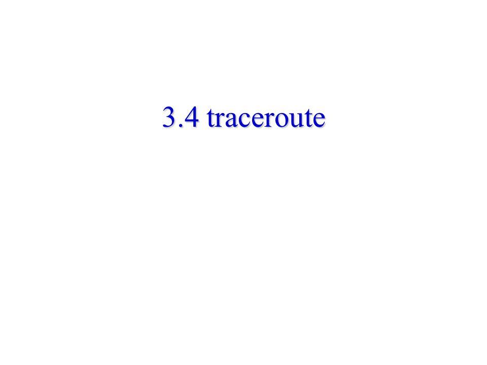3.4 traceroute