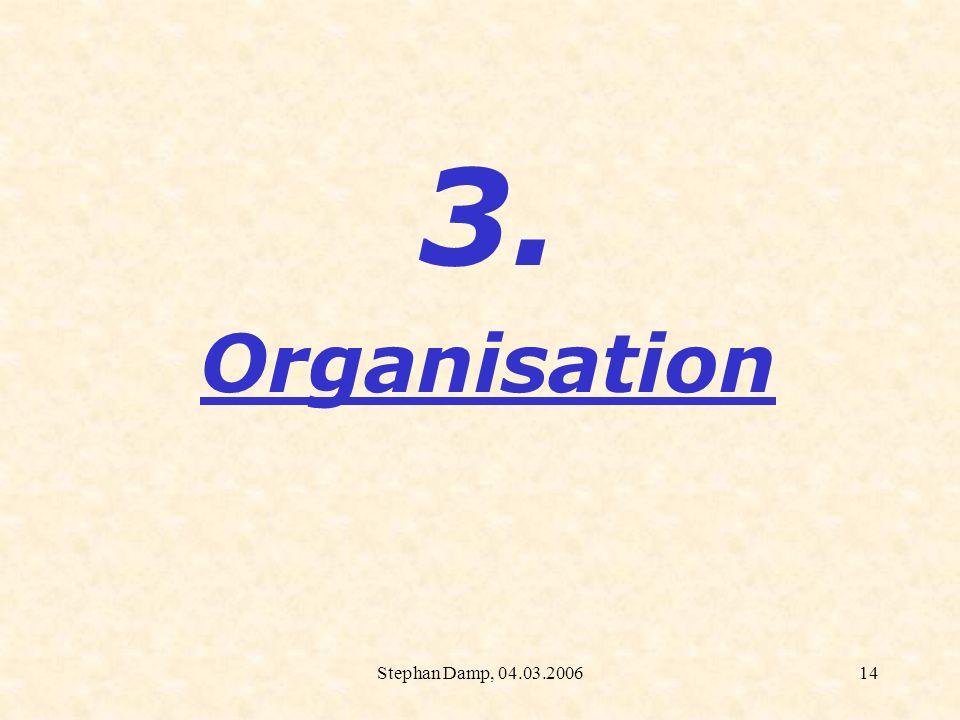 Stephan Damp, 04.03.200615 TIM:Partner und Koordinatoren Leitung: MBFJ Rheinland-Pfalz Kooperationspartner: Texas Instruments Evaluation: Prof.