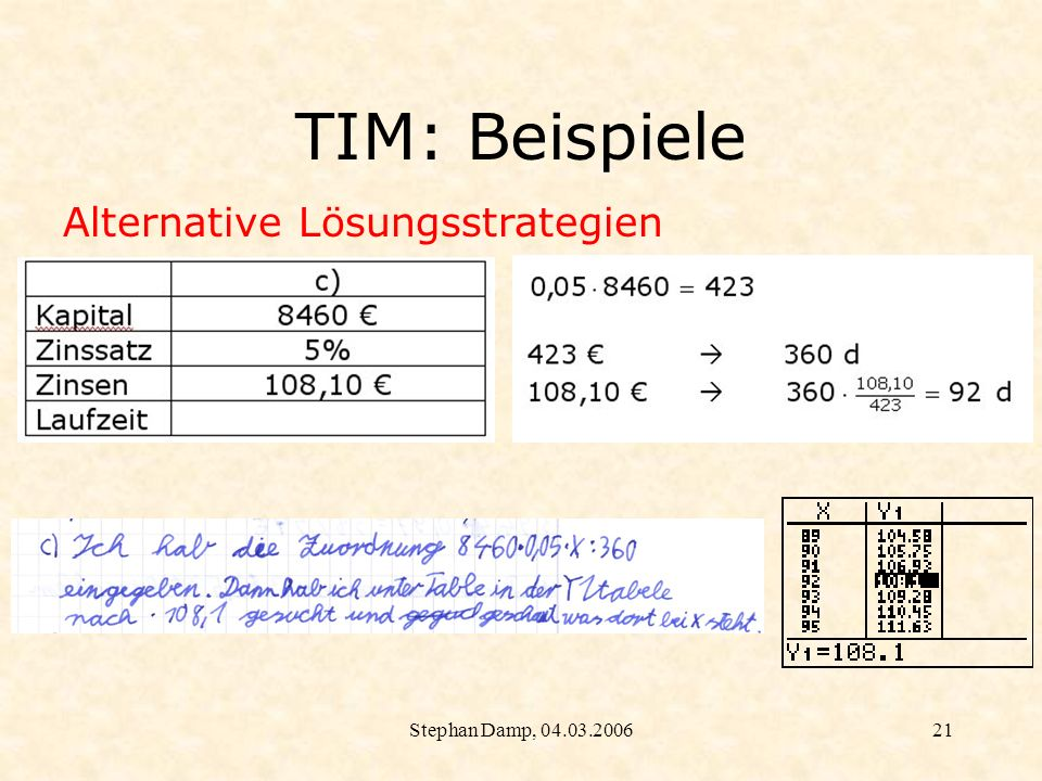 Stephan Damp, 04.03.200622 5. Evaluation