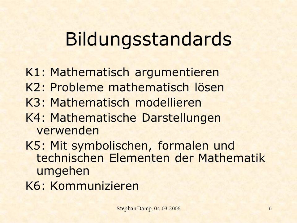 Stephan Damp, 04.03.20067 Blick über die Grenzen Niedersachsen, Rahmenrichtlinien: Ab Schuljahrgang 7 soll...