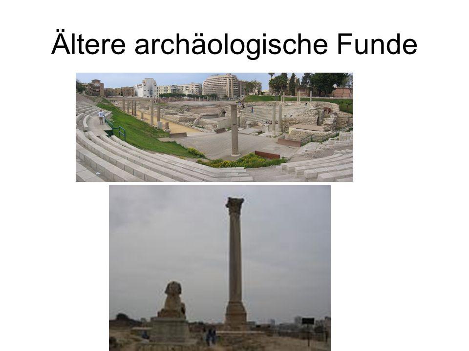 Ältere archäologische Funde