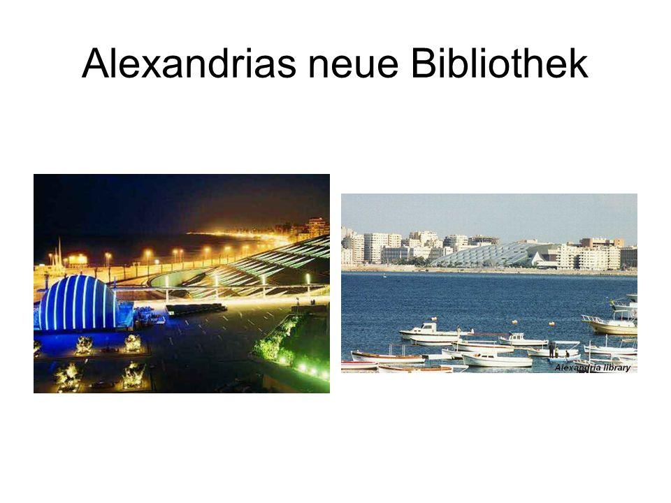 Alexandrias neue Bibliothek