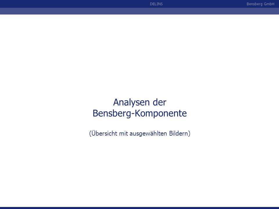 Bensberg GmbHDELINS Analysen der Bensberg-Komponente (Übersicht mit ausgewählten Bildern)