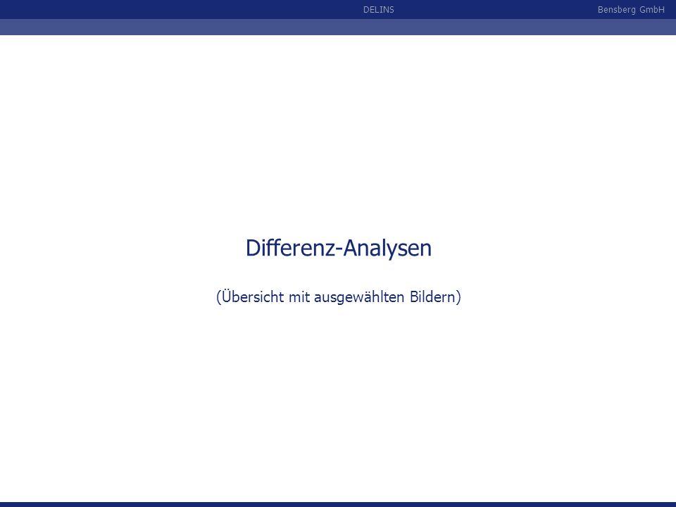 Bensberg GmbHDELINS Differenz-Analysen (Übersicht mit ausgewählten Bildern)