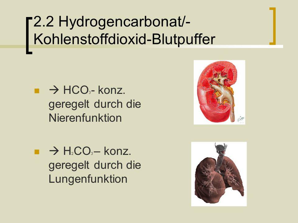 3.Störungen im Säure/Base Haushalt Azidose & Alkalose 1.