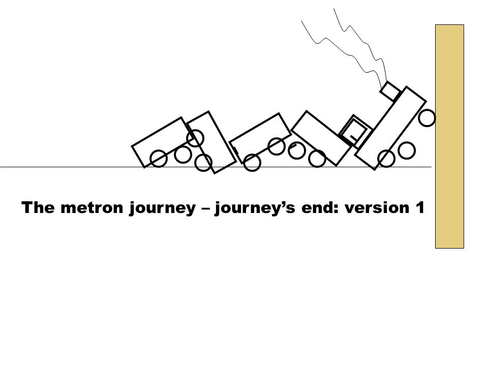 The metron journey – journeys end: version 1