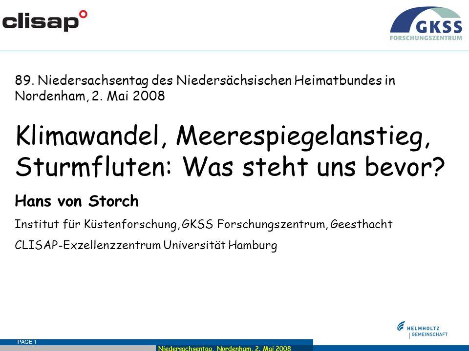 Niedersachsentag, Nordenham, 2. Mai 2008 PAGE 1 89.