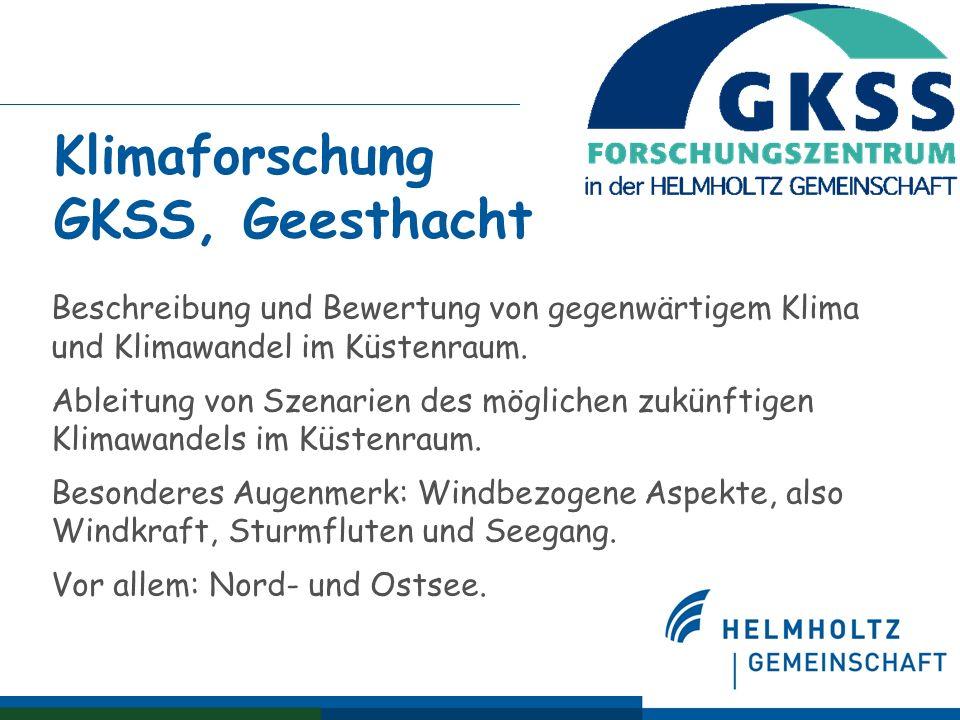 Norddeutsches Klimabüro @GKSS & CLISAP Ein Einrichtung zur Kommunikation zwischen Wissenschaft und Betroffenen (Stakeholder), die sich bemüht daß die Wissenschaft versteht, welche Fragen und Sorgen bei Betroffenen bestehen, und daß die Betroffenen die wissenschaftlichen Einschätzungen sowie deren Grenzen und Belastbarkeit verstehen.