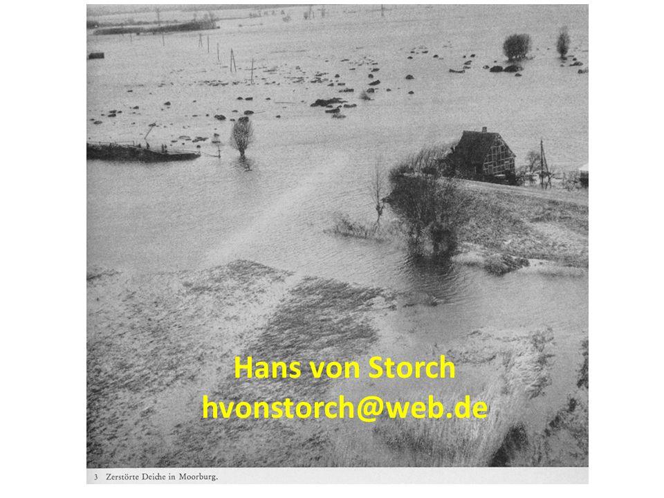 Hans von Storch hvonstorch@web.de