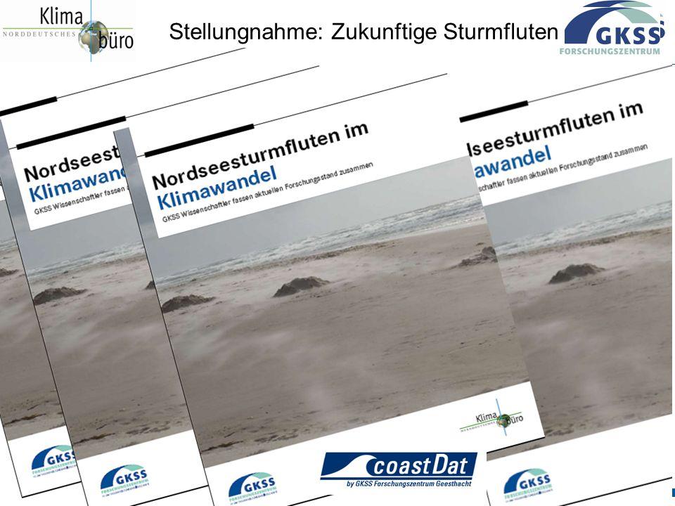 Stellungnahme: Zukunftige Sturmfluten