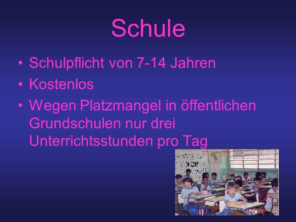 Schule Schulpflicht von 7-14 Jahren Kostenlos Wegen Platzmangel in öffentlichen Grundschulen nur drei Unterrichtsstunden pro Tag