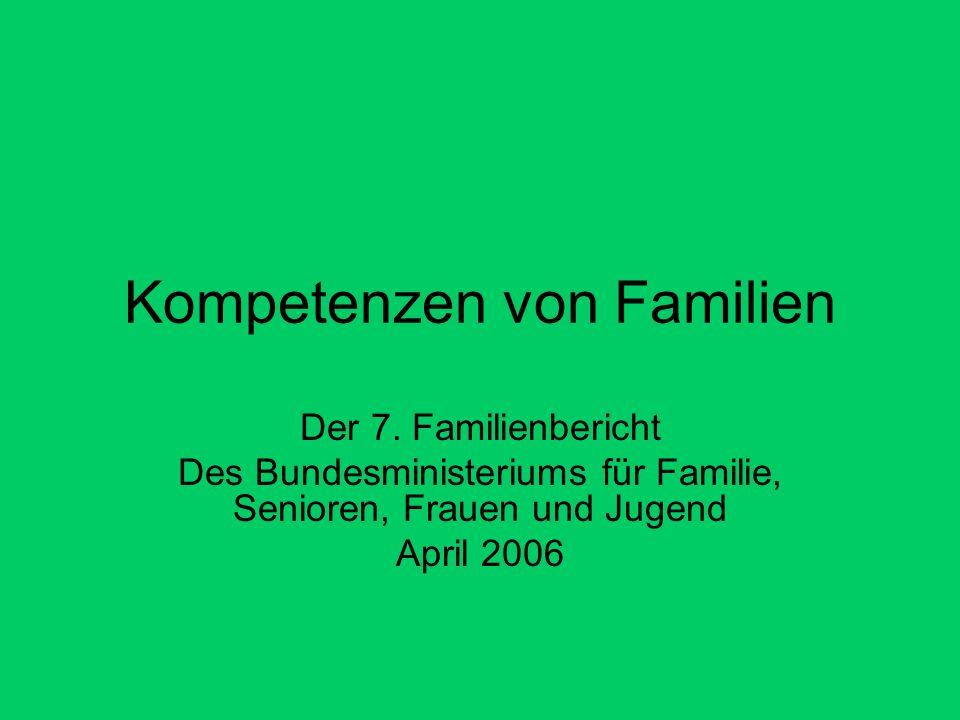 Kompetenzen von Familien Der 7.