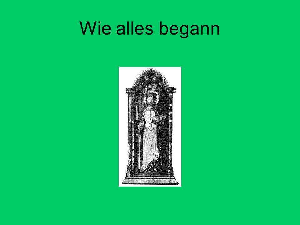 Geschichte der Familienpflege Die Legende der heiligen Dymphna aus dem 6.