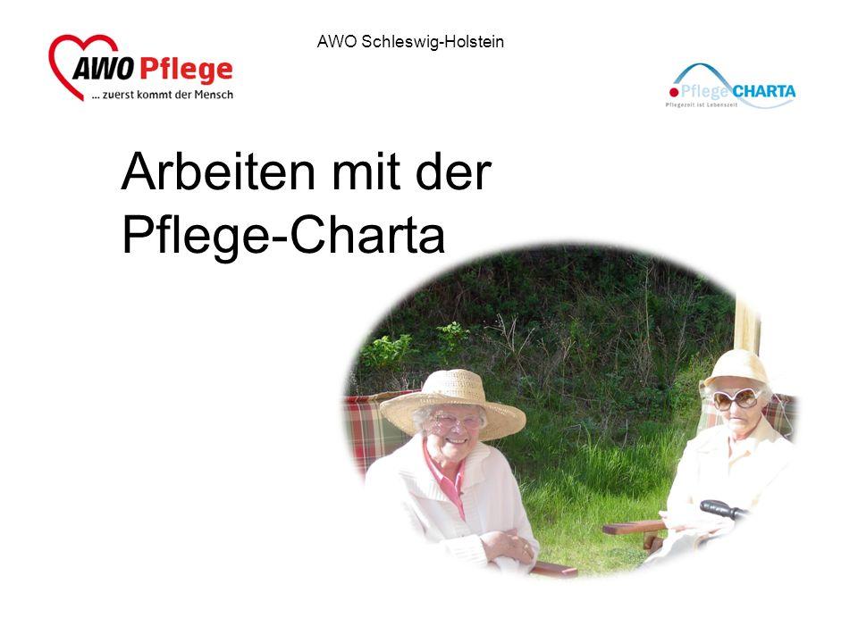 AWO Schleswig-Holstein Arbeiten mit der Pflege-Charta