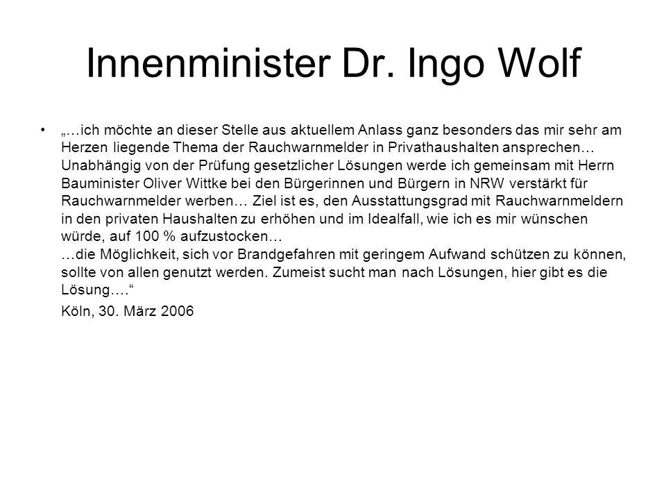 Verweise in den Bauordnungen Rheinland-Pfalz, Hessen, Hamburg, Schleswig- Holstein, Saarland und Mecklenburg- Vorpommern haben Rauchwarnmelder in den