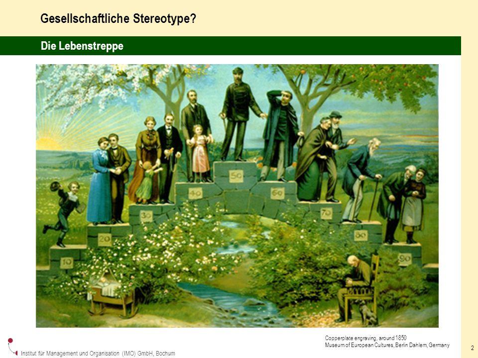 Institut für Management und Organisation (IMO) GmbH, Bochum 2 Gesellschaftliche Stereotype.