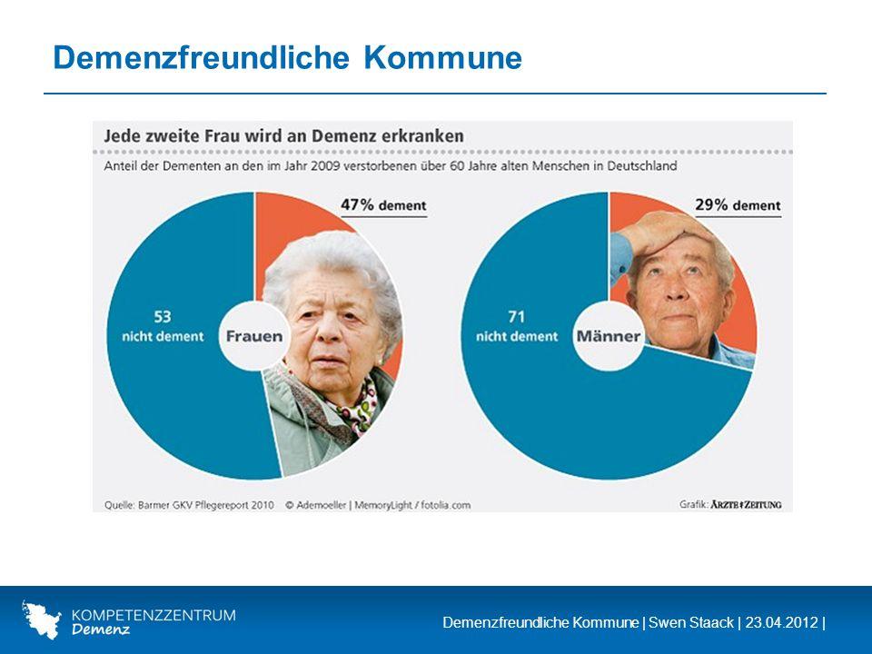 Demenzfreundliche Kommune | Swen Staack | 23.04.2012 | Demenzfreundliche Kommune