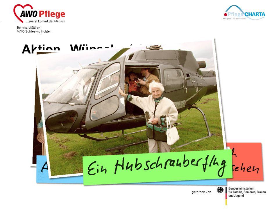 Bernhard Stärck AWO Schleswig-Holstein gefördert von Aktion Wünsche (ein)wecken