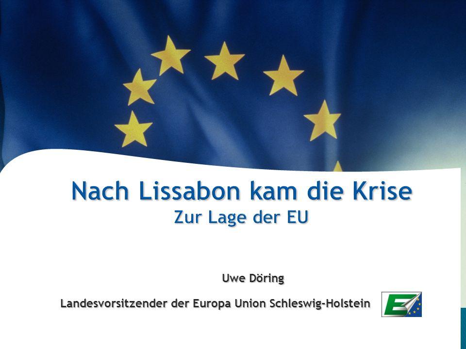 Uwe Döring Landesvorsitzender der Europa Union Schleswig-Holstein