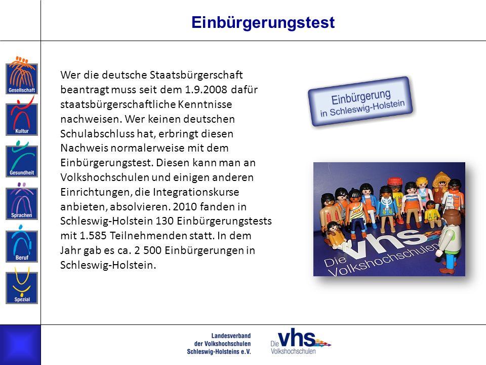 Einbürgerungstest Wer die deutsche Staatsbürgerschaft beantragt muss seit dem 1.9.2008 dafür staatsbürgerschaftliche Kenntnisse nachweisen.