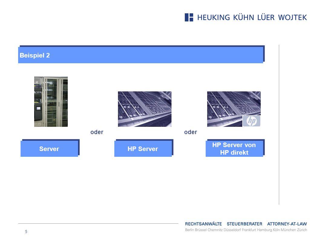 5 HP Server von HP direkt oder HP Server Server Beispiel 2