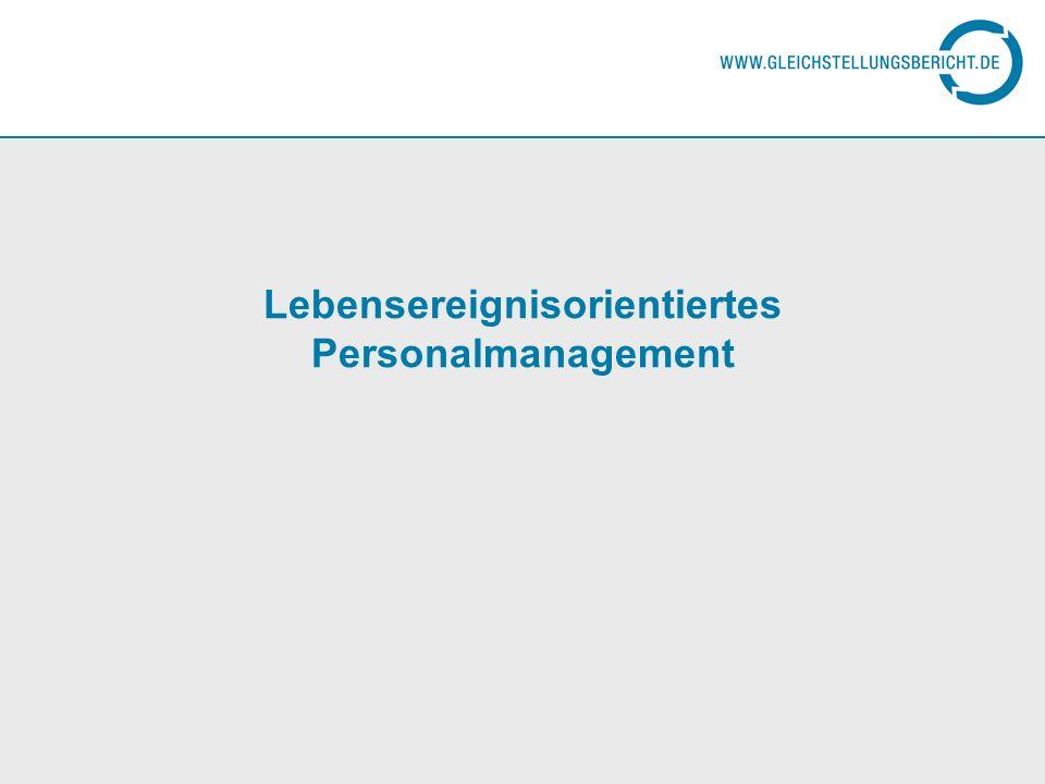 Lebensereignisorientiertes Personalmanagement - Dt.