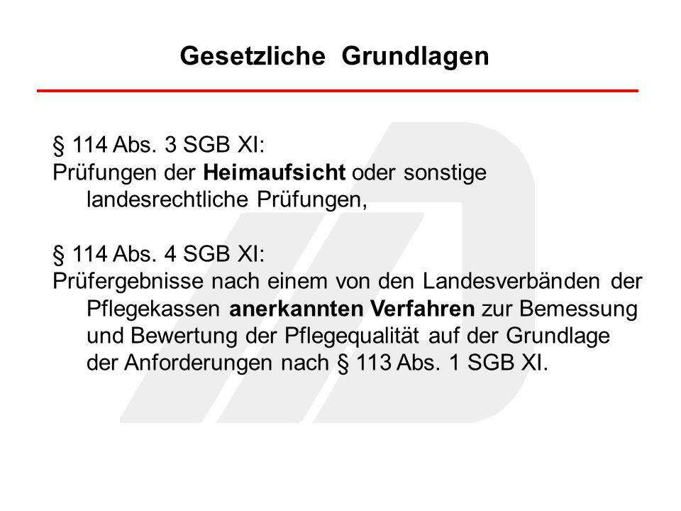 Gesetzliche Grundlagen § 114 Abs.