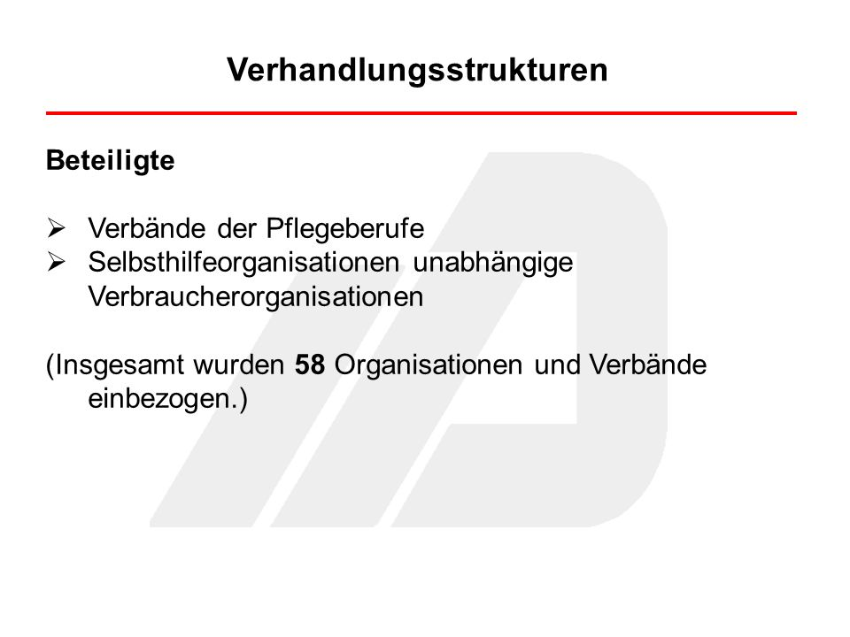 Verhandlungsergebnisse Gesetzliche Frist für die Transparenzvereinbarung: 30.09.2008 Vertragsabschlüsse 17.12.2008 Stationär (PTVS) 29.01.2009 Ambulant (PTVA)