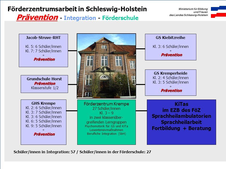 Ministerium für Bildung und Frauen des Landes Schleswig-Holstein Rendsburg, d. 23.03.2009 Jan Stargardt, III 311 Sonderpädagogische Förderung in Schle