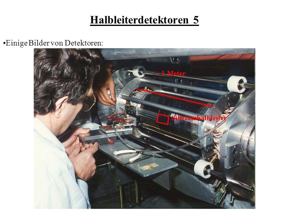 Halbleiterdetektoren 5 Einige Bilder von Detektoren: