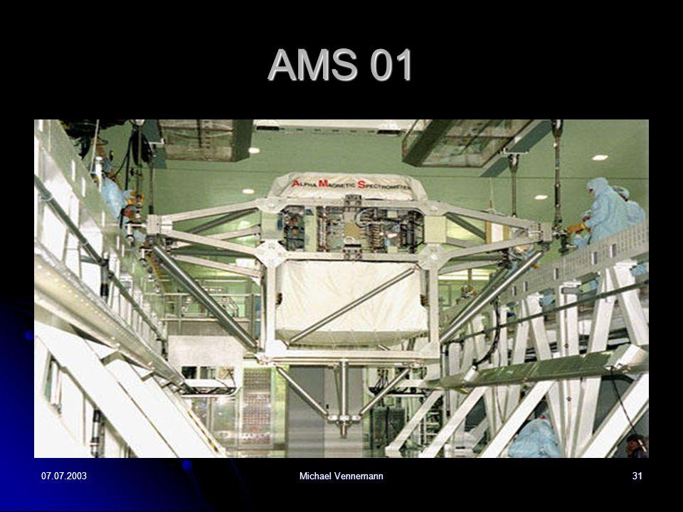 07.07.2003Michael Vennemann31 AMS 01