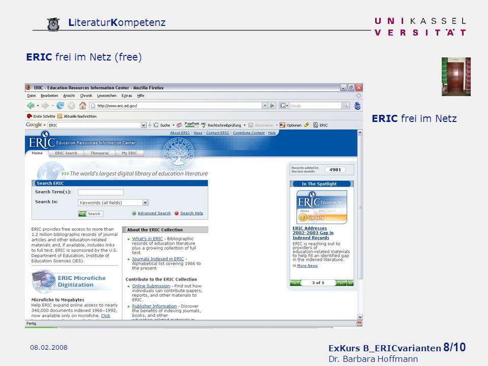 ExKurs B_ERICvarianten 8/10 Dr.