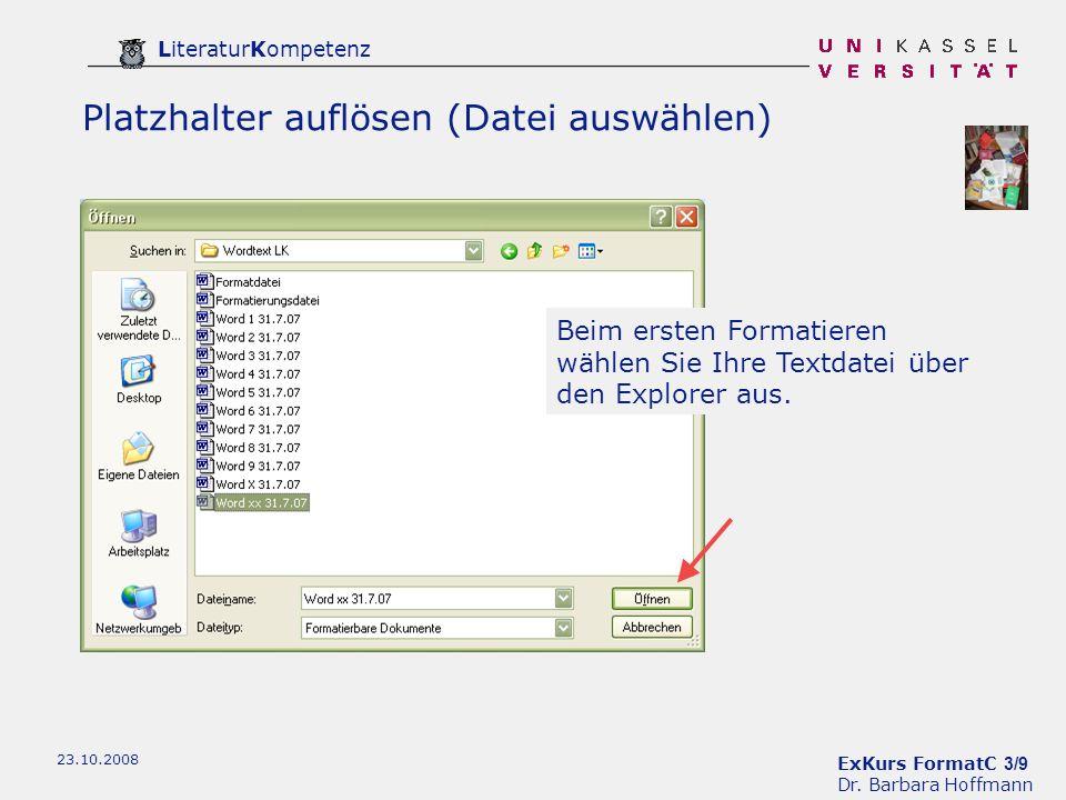 ExKurs FormatC 3/9 Dr.