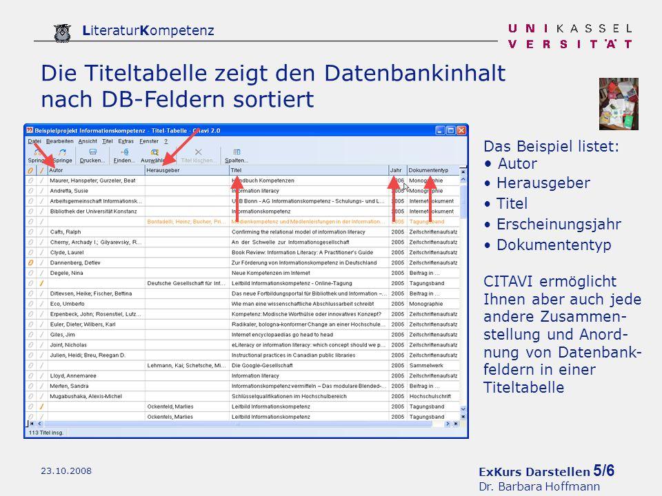 ExKurs Darstellen 5/6 Dr.
