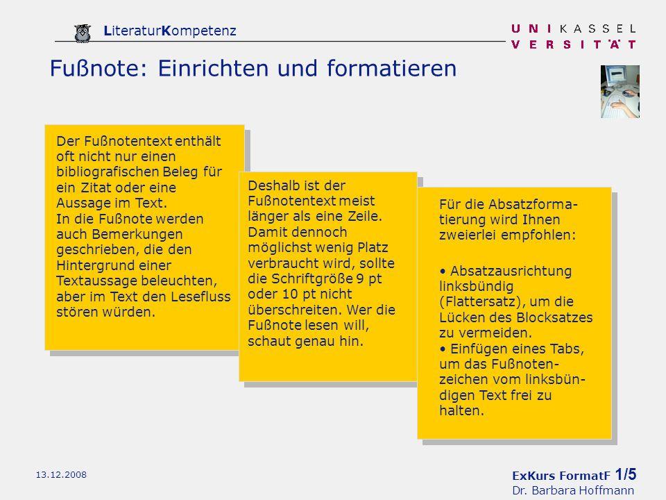 ExKurs FormatF 1/5 Dr.