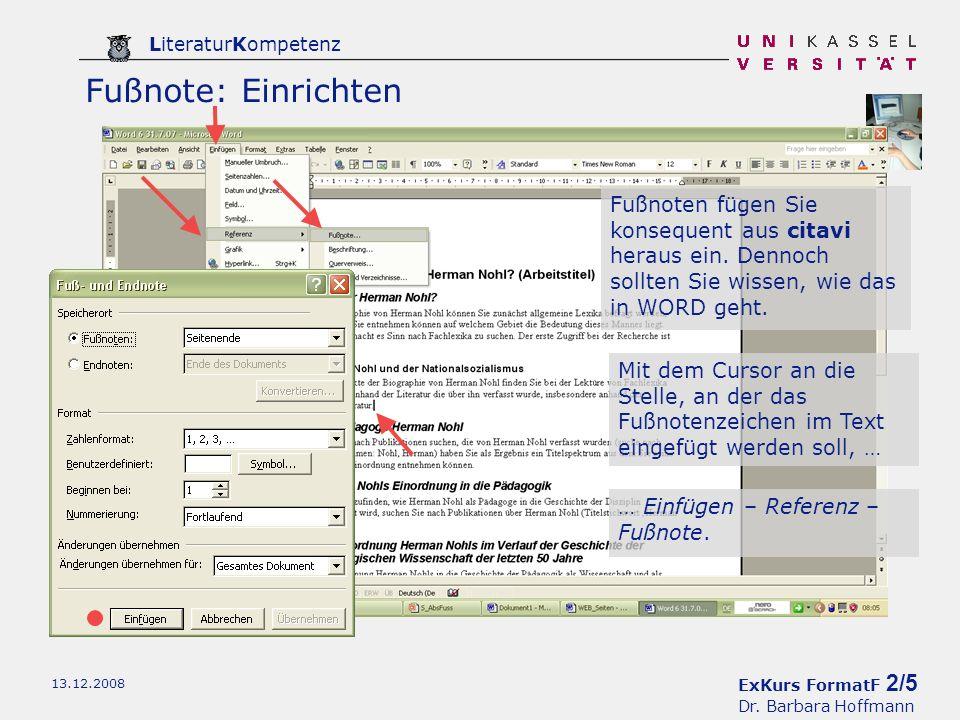 ExKurs FormatF 3/5 Dr.