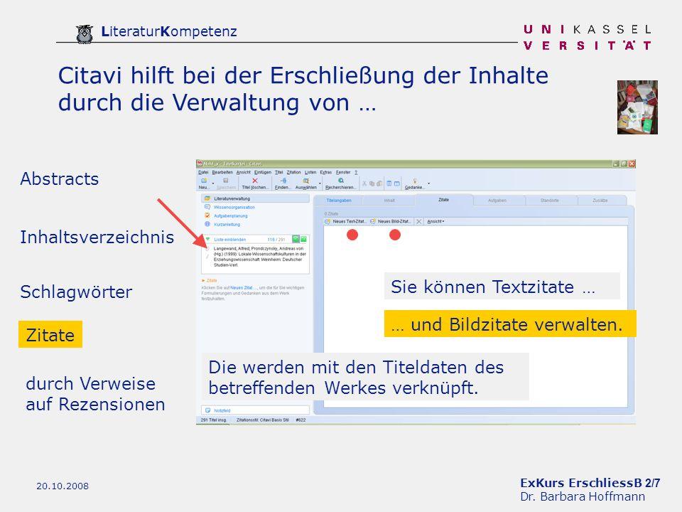ExKurs ErschliessB 2/7 Dr.
