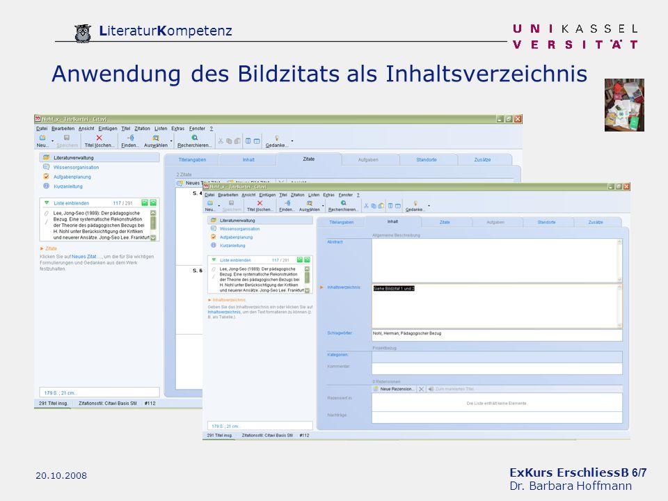 ExKurs ErschliessB 6/7 Dr.