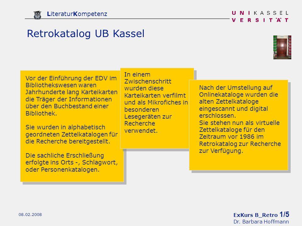 ExKurs B_Retro 1/5 Dr.