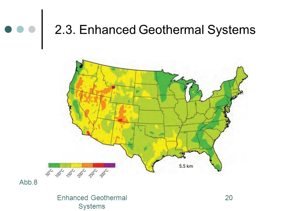 Enhanced Geothermal Systems 20 2.3. Enhanced Geothermal Systems Abb.8