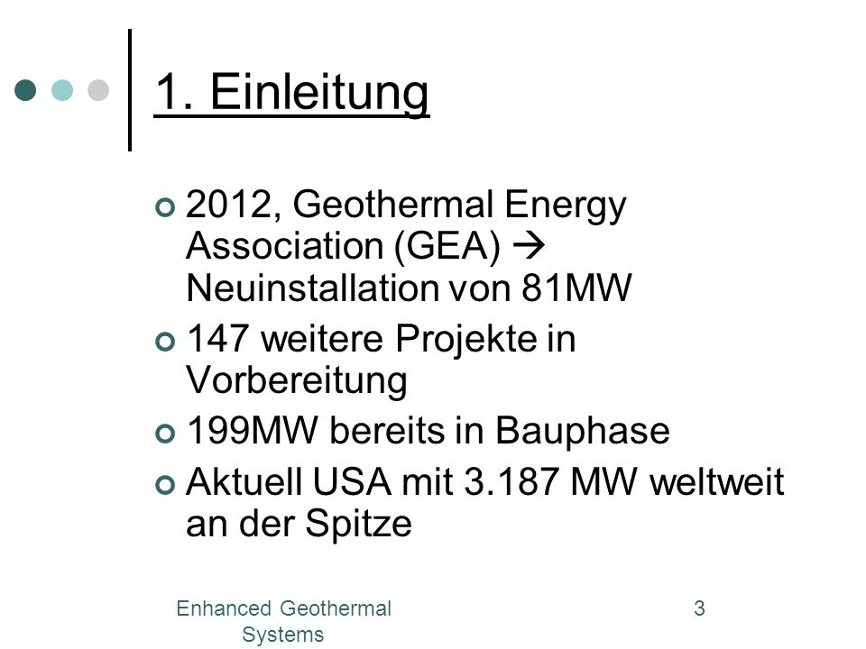 Enhanced Geothermal Systems 24 2.3.Enhanced Geothermal Systems 2.3.4.