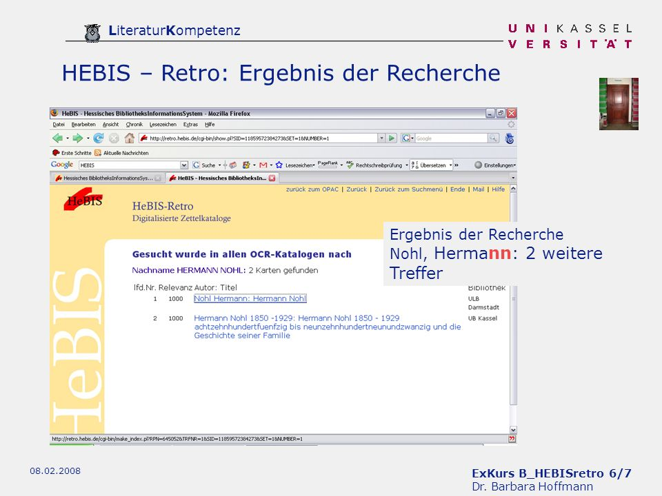 ExKurs B_HEBISretro 6/7 Dr.